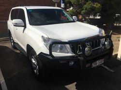 2011 Toyota Prado GLX Diesel, auto 85000ks, tinted windows, b/bar, t/bar, drivng lights, dual bat...