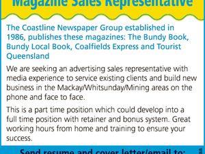 Magazine Sales Representative