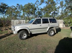 TOYOTA Lancruiser GXL, 1995, new petrol engine (Sprintek supercharged), auto upgrade (wholesale a...