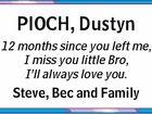 PIOCH, Dustyn