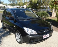 Hyundai Getz 2006 1.4 Manual, One Owner,  RWC, Tint, Electronic  Rust Proof