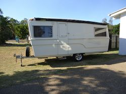 1964 Olympic Riviera caravan, 16ft, Chassis No.110. Completely refurbished inside, new axle, elec...