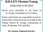 KILLEN Thomas Young