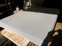 removable cotton cover. ideal sleep overs/van
