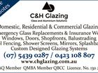 C & H GLAZING Glass and Aluminium