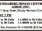 BUNDABERG BINGO CENTRE ASSOC.INC.