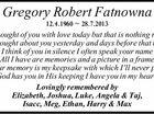 Gregory Robert Fatnowna
