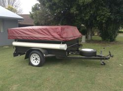 2009 GIC Camper Trailer. VGC only used about 6 times. 12' tent; full size awning; annexe with floor;...