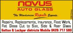3391334aa Repairs, Replacements, Insurance, Fleet Work, Flat Glass Cut to Size, Side & Rear Glas...