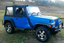 JEEP 4WD Wrangler 97 mod 4ltr, 5spd man, good ks, new Cooper tyres & alloys, dual SRS airbags...