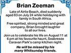 Brian Zeeman