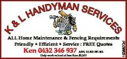 IC ALL Home Maintenance & Fencing Requirements Friendly * Efficient * Service : FREE Quotes Ken...