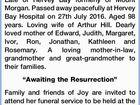 HILL: Joyce Margaret 'Joy'