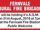 FERNVALE RURAL FIRE BRIGADE