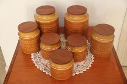 1976 Made in England All seals are perfect   Great collection & look amazing in kitchen