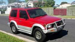 PAJERO, swb, 1992 GLS, man, a/c, p/steer, dual batteries, bull & tow bar, new tyres, 11/16 re...