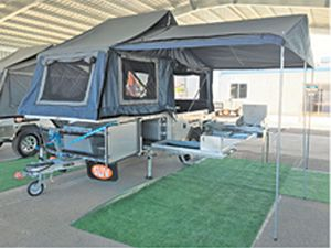 FORWARD FOLD REVERSE CYCLE A/C Campers,