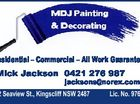 MDJ Painting and Decorating