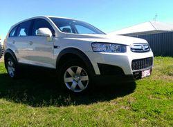 2012 Holden Captiva 7, Series 2, diesel, auto, log books, RWC, excellent condition, $17800 Ph own...
