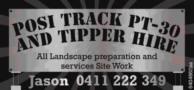 All Landscape preparation and services  Site Work Jason   0411 222 349
