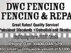 DWC FENCING