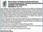 Bowen Basin and Gladstone Regional Roads & Transport Groups