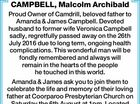 CAMPBELL, Malcolm Archibald