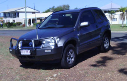 2011 SUZUKI Grand Vitara, 3 door, 2.4 man, 91,373 kms, b/bar, t/bar, tint, reg 4/17, RWC, immac,...