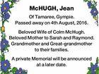 McHUGH, Jean