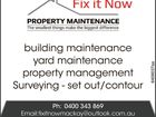 FIX IT NOW PROPERTY MAINTENANCE