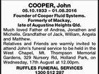 COOPER, John