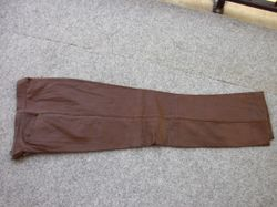 Waist 73.5cm, length 103cm. Front pockets, lined, front zip. $50 negotiable. 0419737461.