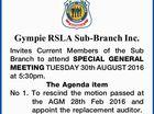 Gympie RSLA Sub-Branch