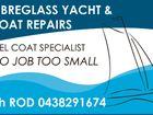 Fibreglass Yacht & Boat Repairs