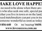 MAKE LOVE HAPPEN
