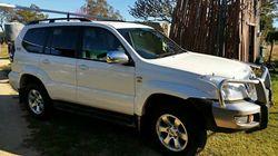 2008 TOYOTA Prado GLX diesel, manual, 163,000 kms, tinted windows, b/bar, t/bar, elec trailer bra...