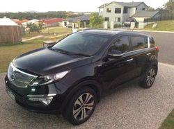 2011 Kia Sportage platinum 4X4, MY12 sports auto, 2.4L petrol, rego & warranty till Jan 2017,...