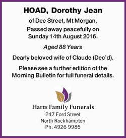 HOAD, Dorothy Jean