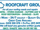 ROOFCRAFT GROUP P?L