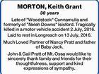 MORTON, Keith Grant