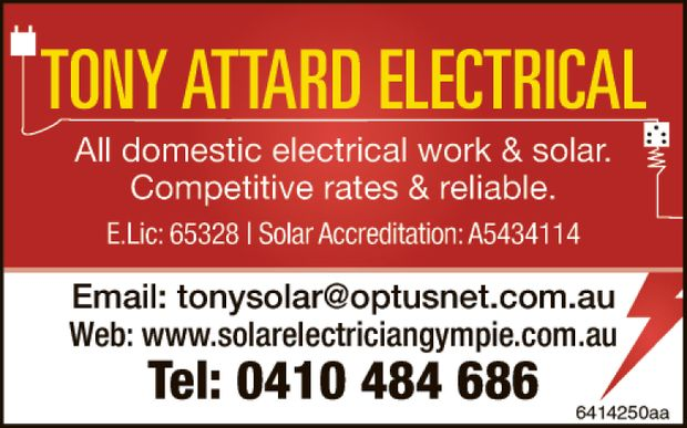 All domestic electrical work and solar