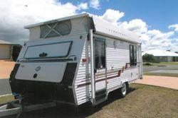 COROMAL Seka Poptop, 16', 1996, roll out awning, annexe, d/bed, 3-way fridge, m/wave, batte...