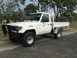 LANDCRUISER UTE '98, RWC registered 07/17, good tyres, new paint, 180,000 klms, $12,000 ono...