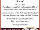 """GILPATRICK: Lawrence """"Larry"""""""