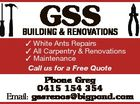 GSS BUILDING  & RENOVATIONS