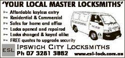 ESL Ipswich City Locksmiths   Affordable keyless entry   Residential & Commercial Saf...