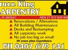 Bruce King Carpentry