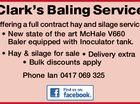Clark's Baling Service