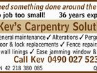 Kev's Carpentry Solutions