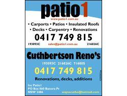 *Carports *Patios *Insulated roofs *Decks&n...